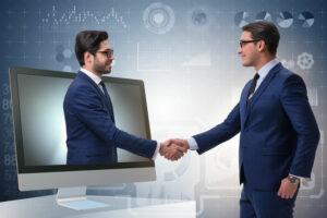 Virtual Handshake